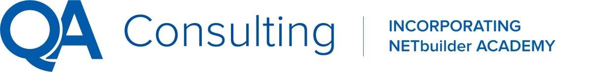 QA Consulting Logo - Incorporating NetBuilder Academy